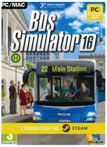 Bus Simulator 16  Steam CD key PC Código De Resgate Digital