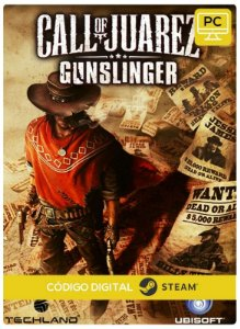 Call of Juarez Gunslinger  PC Steam Código de Resgate digital