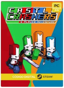 Castle Crashers  PC Steam Código de Resgate digital