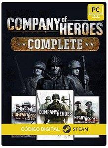 Company Of Heroes Complete Edition  Steam Código de Resgate digital
