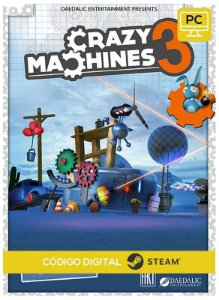 Crazy Machines 3 PC cd-key Steam Código de Resgate digital