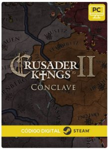 Crusader Kings II - Conclave DLC PC cd-key Steam Código de Resgate digital