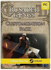 Crusader Kings II - Customization Pack DLC PC cd-key Steam Código de Resgate digital
