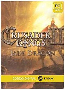 Crusader Kings II - Jade Dragon PC cd-key Steam Código de Resgate digital