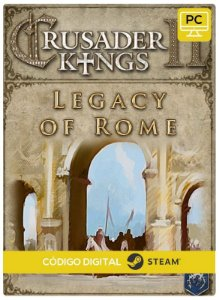 Crusader Kings II - Legacy of Rome  PC cd-key Steam Código de Resgate digital