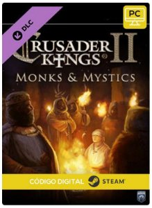 Crusader Kings II - Monks and Mystics DLC  PC cd-key Steam Código de Resgate digital