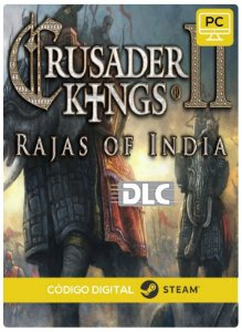 Crusader Kings II - Raja of India DLC  PC cd-key Steam Código de Resgate digital