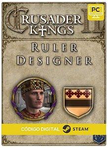 Crusader Kings II - Ruler Designer DLC  PC cd-key Steam Código de Resgate digital