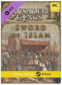 Crusader Kings II - Sword of Islam DLC PC cd-key Steam Código de Resgate digital