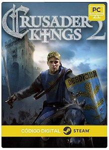 Crusader Kings II PC cd-key Steam Código de Resgate digital