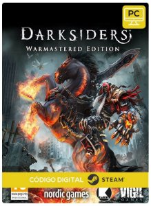 Darksiders Warmasterd Edition PC cd-key Steam Código de Resgate digital