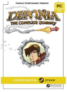 Deponia: The Complete Journey PC CD-KEY Steam Código De Resgate Digital