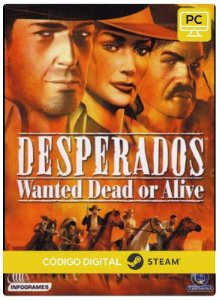 Desperados: Wanted Dead or Alive PC CD-KEY Steam Código De Resgate Digital