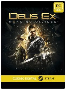 Deus Ex: Mankind Divided  PC CD-KEY Steam Código De Resgate Digital