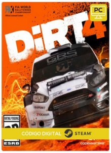 DiRT 4 PC CD-KEY Steam Código De Resgate Digital