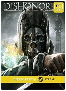 Dishonored PC CD-KEY Steam Código De Resgate Digital