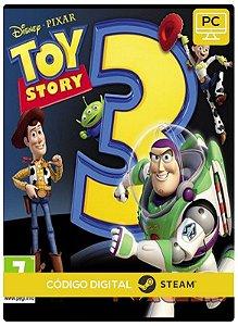 Toy Story 3 The Video Game PC CD-KEY Steam Código De Resgate Digital