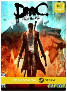 DmC: Devil May Cry PC CD-KEY Steam Código De Resgate Digital