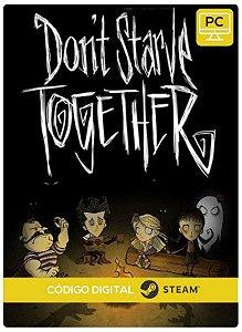 Don't Starve Together PC CD-KEY Steam Código De Resgate Digital