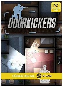 Door Kickers  PC CD-KEY Steam Código De Resgate Digital