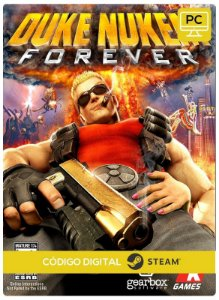 Duke Nukem Forever  PC CD-KEY Steam Código De Resgate Digital