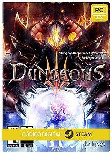 Dungeons 3 PC CD-KEY Steam Código De Resgate Digital