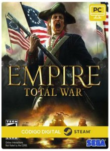 Empire: Total War Collection Steam CD key PC Código De Resgate Digital