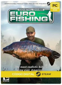 Euro Fishing Steam CD key PC Código De Resgate Digital