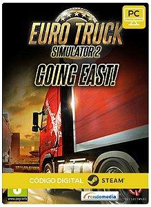 Euro Truck Simulator 2 - Going East!  DLC  Steam Pc Código De Resgate Digital
