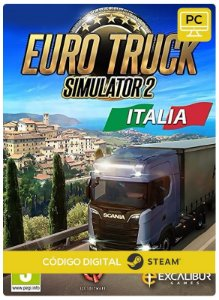 Euro Truck Simulator 2 - Italia DLC   Steam Pc Código De Resgate Digital