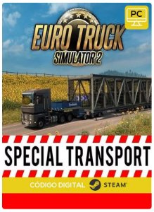 Euro Truck Simulator 2 - Special Transport  DLC Steam Pc Código De Resgate Digital