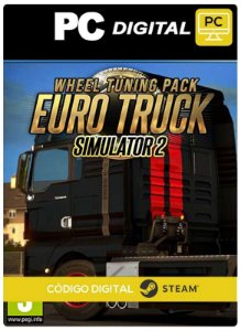 Euro Truck Simulator 2 Wheel Tuning Pack  DLC Steam Pc Código De Resgate Digital