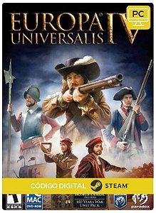 Europa Universalis IV Steam Pc Código De Resgate Digital