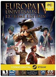 Europa Universali IV Digital Deluxe Steam Pc Código De Resgate Digital