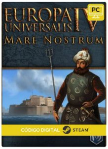 Europa Universalis IV - Mare Nostrum Steam  Pc Código De Resgate Digital