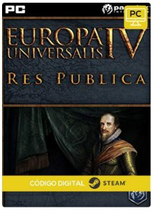 Europa Universalis IV - Res Publica Expansion Steam  Pc Código De Resgate Digital