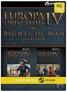 Europa Universalis IV - Rights of Man Collection Steam  Pc Código De Resgate Digital