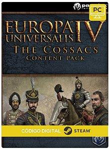 Europa Universalis IV - The Cossacks Content Pack Steam  Pc Código De Resgate Digital