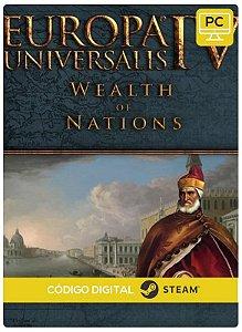 Europa Universalis IV - Wealth of Nations Expansion  Steam  Pc Código De Resgate Digital