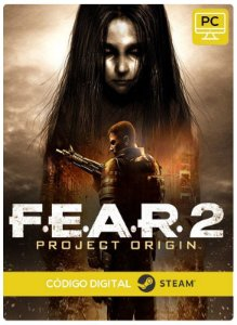 F.E.A.R. 2 Project Origin Pc Steam cdkey Código De Resgate Digital