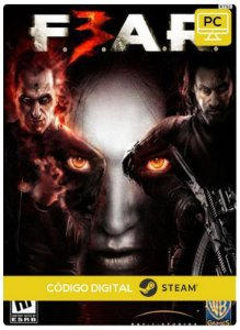 F.E.A.R. 3 Pc Steam cdkey Código De Resgate Digital