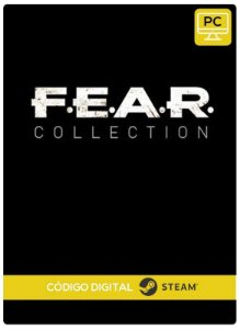 F.E.A.R. Collection PC Steam cdkey Código De Resgate Digital