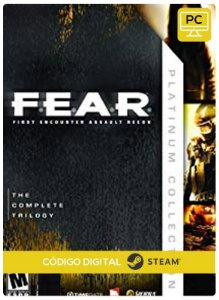 F.E.A.R. Platinum Edition  PC Steam cdkey Código De Resgate Digital