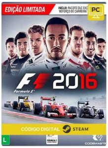 F1 2016 + Career Booster Pack Pc Steam cdkey Código De Resgate Digital