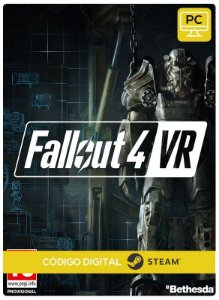 Fallout 4 VR Steam CD Key  PC Steam Código de Resgate digital