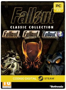 Fallout Classic Collection Pc Steam cdkey Código De Resgate Digital