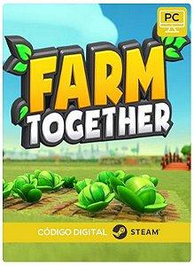 Farm Together Pc Steam cdkey Código De Resgate Digital