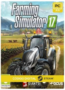 Farming Simulator 17  Pc Steam cdkey Código De Resgate Digital