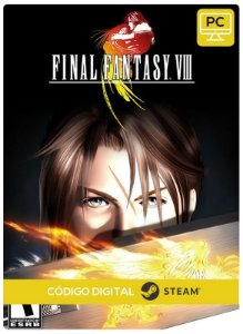Final Fantasy VIII Pc Steam cdkey Código De Resgate Digital