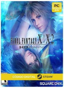 Final Fantasy X/X-2 HD Remaster Steam CD Key Pc Steam Código De Resgate Digital